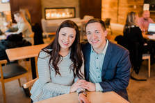 McKayla and Justin Zoromski of Spark Marketing in Eau Claire, WI